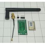 มอดูล MAXIIOT DL7612-AS923-TH พร้อมสายอากาศยาว 9 ซม. และ PCB Adapter
